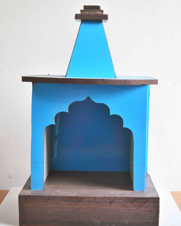 Mangalmaya wooden mandirs for small spaces, flats, apartments and offices