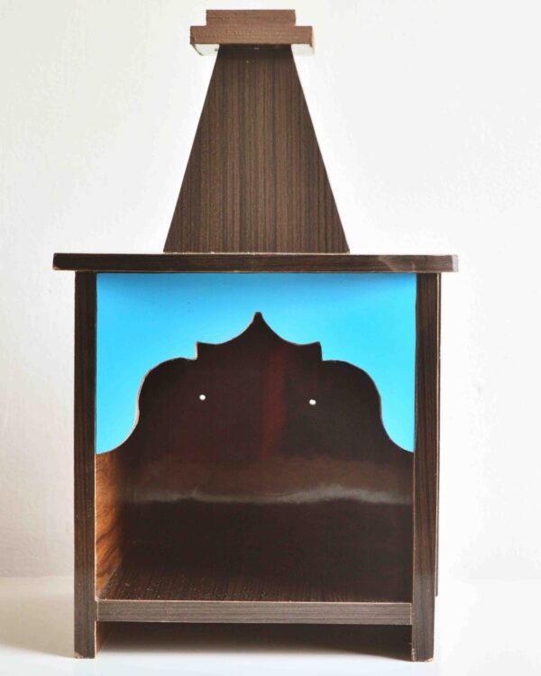 pranidhan wooden mandir for flats, apartments, offices and small places. Affordable furniture