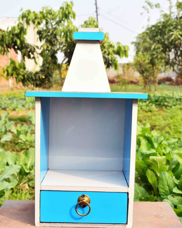 poorvahooti wooden mandir for flats, apartments, offices and small places. Affordable furniture