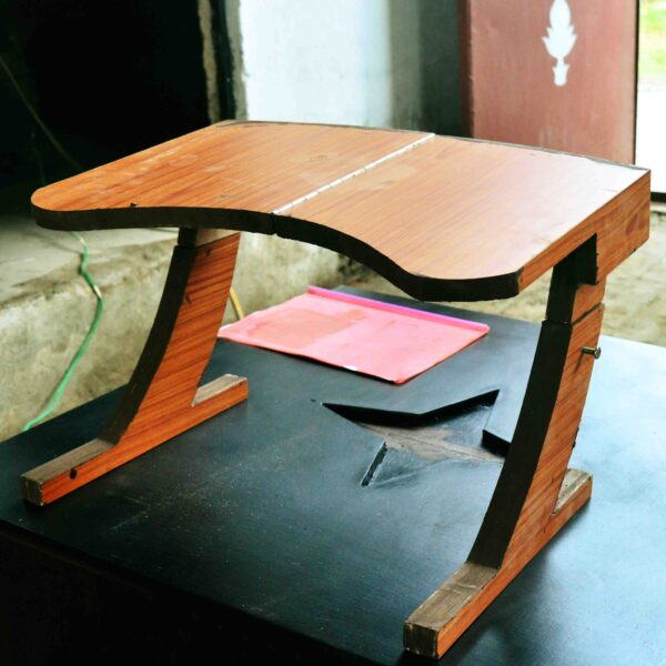 Portable Study Desk Height Adjustable Collapsible Multifunctional