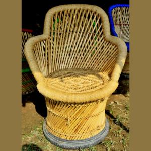 muddha, moodha, bamboo, chair, stool, sofa, rattan, sarkanda, grass, eco friendly, garden